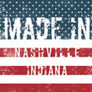 Made In Nashville, Indiana Poster