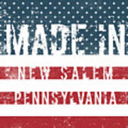 Made In New Salem, Pennsylvania Poster