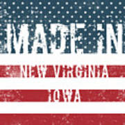 Made In New Virginia, Iowa Poster