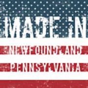Made In Newfoundland, Pennsylvania Poster