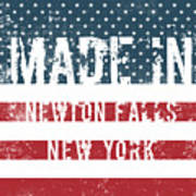 Made In Newton Falls, New York Poster