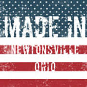 Made In Newtonsville, Ohio Poster