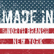 Made In North Branch, New York Poster