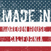Made In Oregon House, California Poster