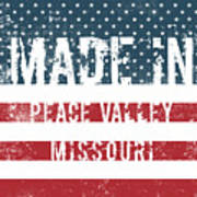 Made In Peace Valley, Missouri Poster