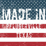 Made In Pflugerville, Texas Poster