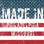Made In Philadelphia, Missouri Poster