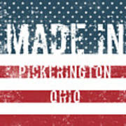 Made In Pickerington, Ohio Poster
