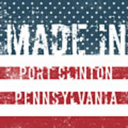 Made In Port Clinton, Pennsylvania Poster