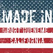 Made In Port Hueneme, California Poster