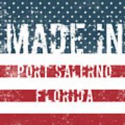Made In Port Salerno, Florida Poster