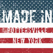 Made In Pottersville, New York Poster