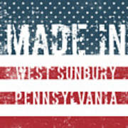Made In West Sunbury, Pennsylvania Poster