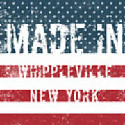 Made In Whippleville, New York Poster