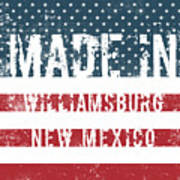 Made In Williamsburg, New Mexico Poster