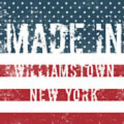 Made In Williamstown, New York Poster