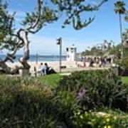 Main Beach Laguna Poster