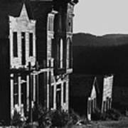 Main Street Ghost Town Elkhorn Montana 1971 Poster