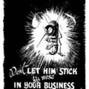 Malaria Mosquito - Ww2 Poster