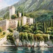 Malcesine Castle, Lago Di Garda Poster