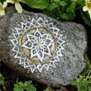 Mandala Stone  Poster