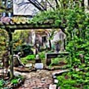 Manhattan Community Garden Poster