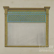 Mantel Looking Glass Poster