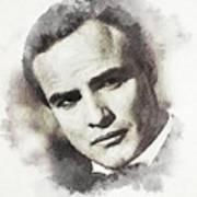 Marlon Brando Poster