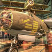 Martin B-26g, Marauder, Shootin In Poster