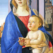Mary With Baby Jesus Poster