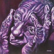 Masseur Poster by Shahid Muqaddim