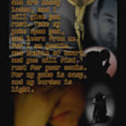 Matthew 11 28 Poster
