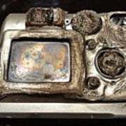 Melted Camera Poster