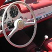 Mercedes 300sl Dashboard Poster