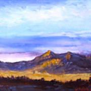 Mesa Sunset Poster