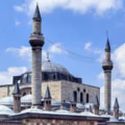 Mevlana Museum Konya - Turkey Poster