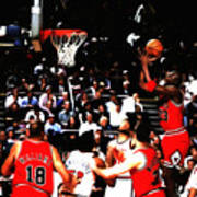 Michael Jordan Soft Touch Poster