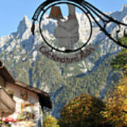 Mittenwald Bakery Poster