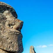 Moai Closeup Poster