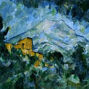 Mont Sainte-victoire And Chateau Noir Poster