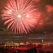 Montreal Fireworks Celebration  Poster
