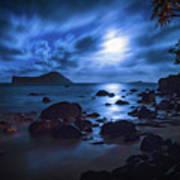 Moon Glow Poster