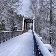 Munger Trail Bridge Poster