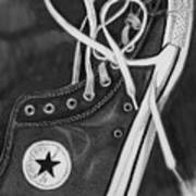 My Son's Chuck Taylor Converse Shoe Poster