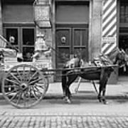 New Orleans: Milk Cart Poster