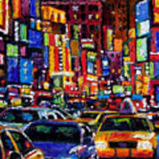 New York City Poster by Debra Hurd