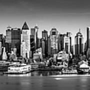 New York City Panorama Poster