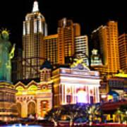 New York  New York Casino Poster