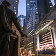 New York Wall Street Poster