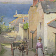 Newlyn From The Bottom Of Adit Lane Poster